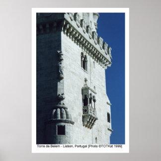 Torre de Belem Poster