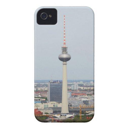 Torre de Berlín Televison Case-Mate iPhone 4 Cobertura