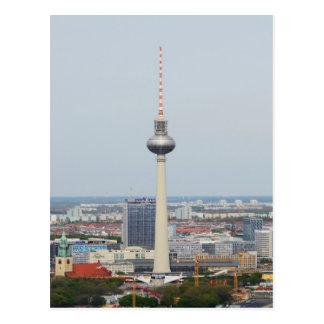 Torre de Berlín Televison Postales