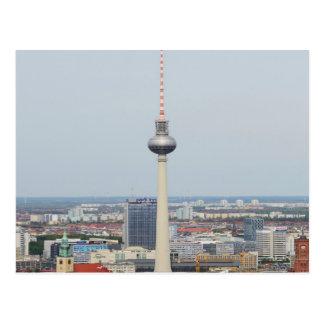 Torre de Berlín Televison Tarjetas Postales