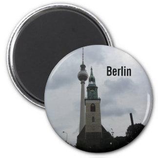 Torre de Berlín TV Imán Para Frigorifico