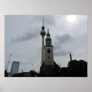 Torre de Berlín TV Impresiones