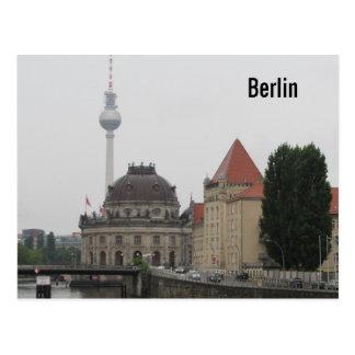 Torre de Berlín TV Tarjeta Postal