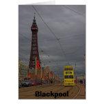 Torre de Blackpool Tarjeta De Felicitación