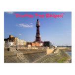 Torre de Blackpool Tarjetas Postales