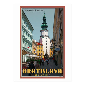 Torre de Bratislava - de Michael Tarjetas Postales