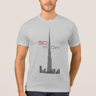 Torre de Burj Khalifa Dubai Camisetas