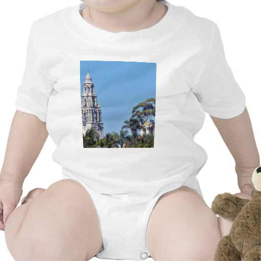 Torre de California en el parque San Diego del bal Traje De Bebé