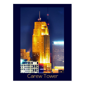 Torre de Carew, Cincinnati, Ohio, los E.E.U.U. Postales