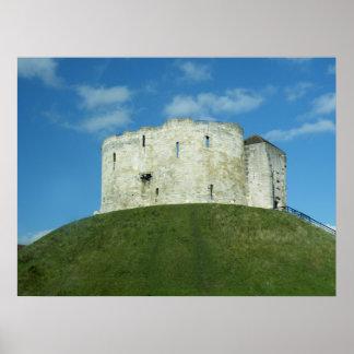 Torre de Cliffords, York, Inglaterra Posters