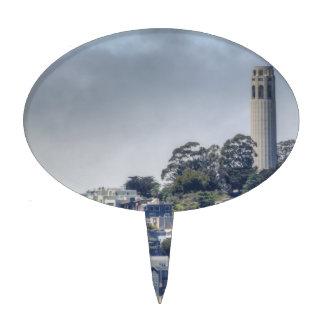 Torre de Coit Figura Para Tarta