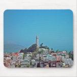 Torre de Coit, San Francisco, California Alfombrilla De Ratones