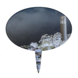 Torre de Coit surrealista Figuras De Tarta