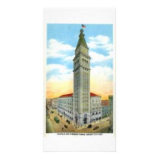 Torre de Daniel Fisher, Denver, Colorado Tarjetas Fotográficas
