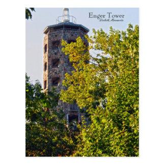 Torre de Enger Duluth Minnesota Postales