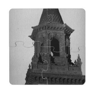 Torre de Flaglers Posavasos De Puzzle