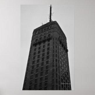 Torre de Foshay, Minneapolis, manganeso Póster