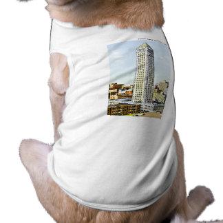 Torre de Foshay, Minneapolis, Minnesota Camisa De Perro