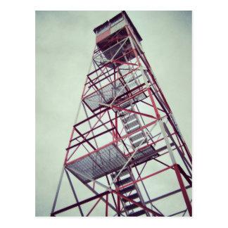 Torre de fuego postales