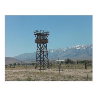 Torre de guardia de Manzanar Tarjetas Postales