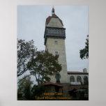 Torre de Heublein - arte del poster o de la lona d