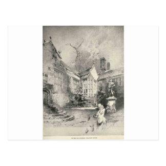 Torre de Hoghton Tarjeta Postal