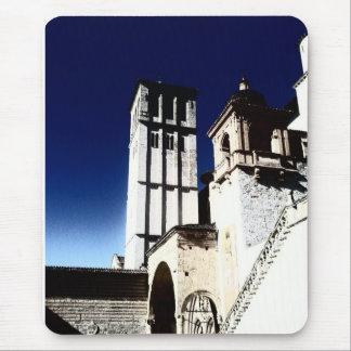 Torre de iglesia alfombrillas de raton