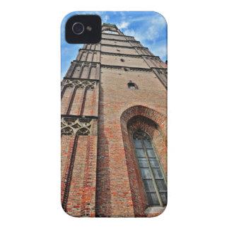 Torre de iglesia de Munchen Case-Mate iPhone 4 Cárcasa