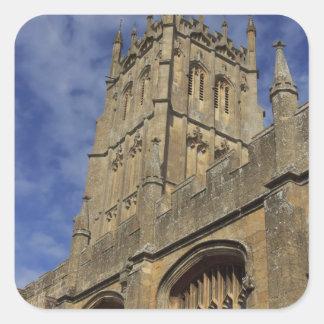 Torre de iglesia de San Jaime, saltando Camden Pegatina Cuadrada