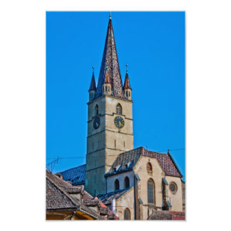 Torre de iglesia evangélica, Sibiu Cojinete
