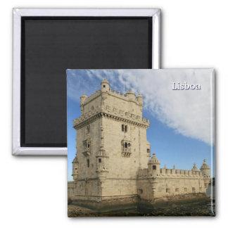 """""""Torre de imán de Belem, Lisboa"""""""