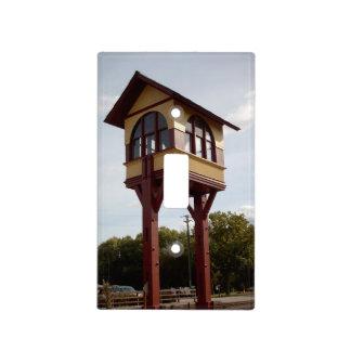 Torre de interruptor del ferrocarril placas para interruptor