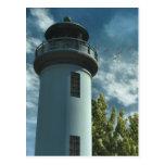 Torre de la casa ligera postal