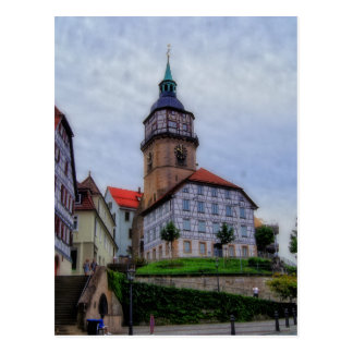 Torre de la ciudad en Backnang en Alemania Postales