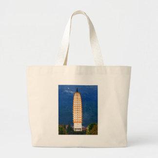 Torre de la dinastía Tang en Yunnan Dali