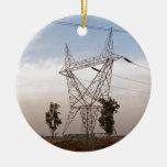 Torre de la electricidad adornos