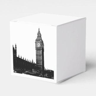 Torre de la fotografía blanco y negro de Londres Paquete De Regalo Para Fiestas
