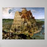Torre de la impresión de Babel Póster