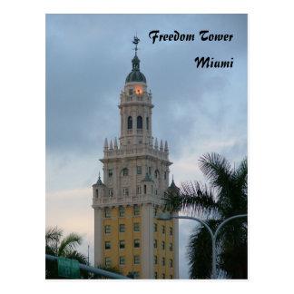 Torre de la libertad tarjetas postales