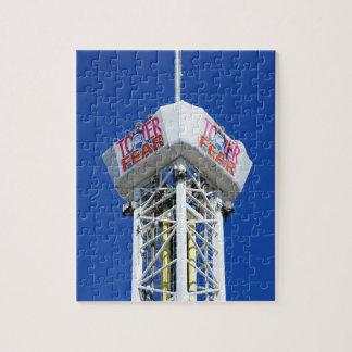 Torre de la orilla de New Jersey de las alturas de Puzzle Con Fotos