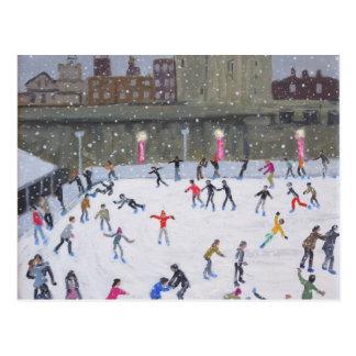 Torre de la pista de hielo de Londres 2015 Postales