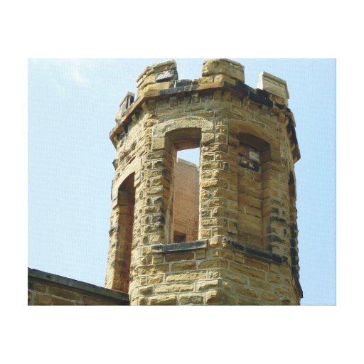 torre de la prisión impresion de lienzo