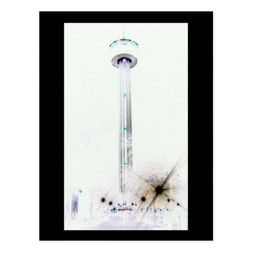 Torre de la serie de Américas Tarjetas Postales