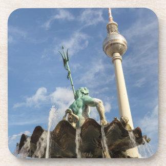 Torre de la televisión de Berlín Posavasos