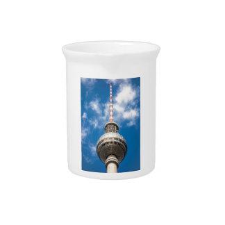 Torre de la televisión en Berlín (Alemania) Jarrón