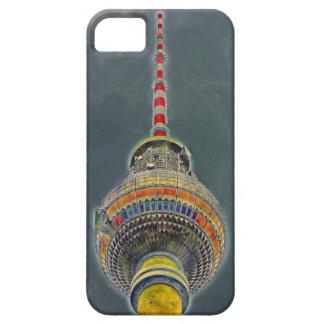 Torre de la TV (Fernsehturm), Berlín, efecto del iPhone 5 Carcasas