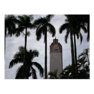 Torre de la vida de Shin Kong Zhongzhen Taipei Tarjetas Postales