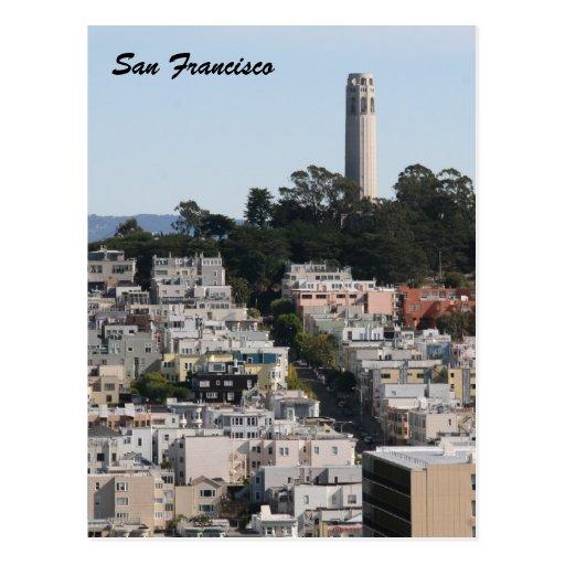 torre de las calles del fran del san postal