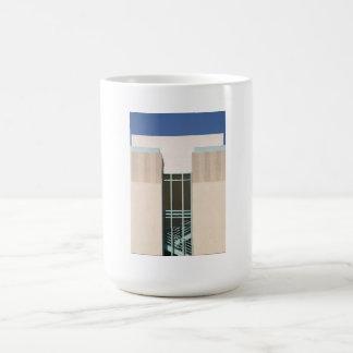 Torre de las escaleras taza de café