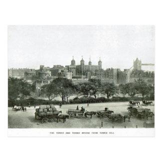 Torre de Londres 1900 Postal